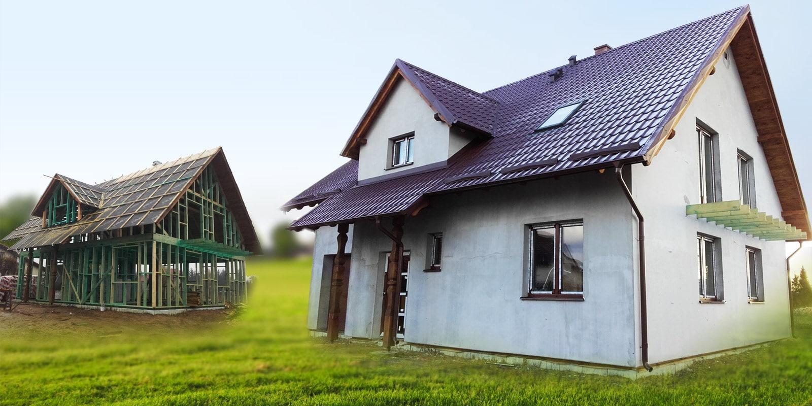 Dom szkieletowy - budowa